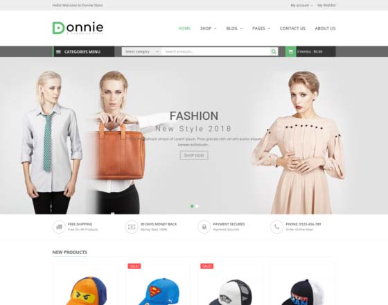Donnie - Multipurpose WooCommerce Theme