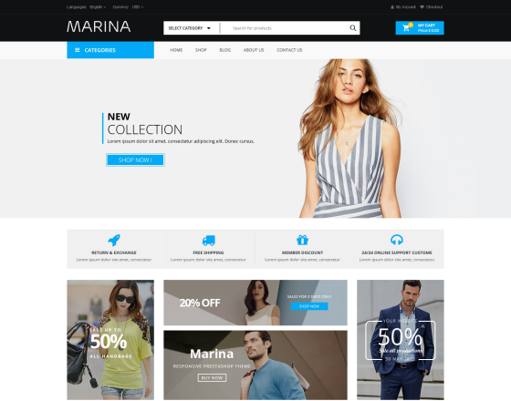 VG Marina - Responsive WooCommerce WordPress Theme