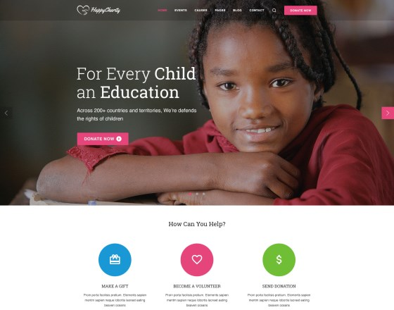 Vina Charity - Responsive Joomla Template for Charity