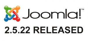 Joomla 2.5.22 Stable has been released